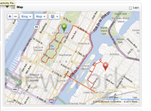 running map from central park to astoria over the queensboro bridge