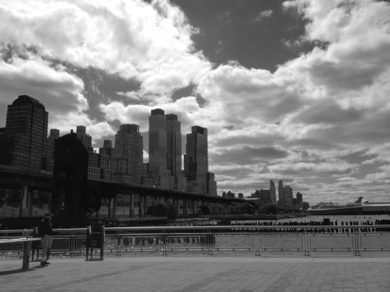 72nd street pier in Manhattan, new york city