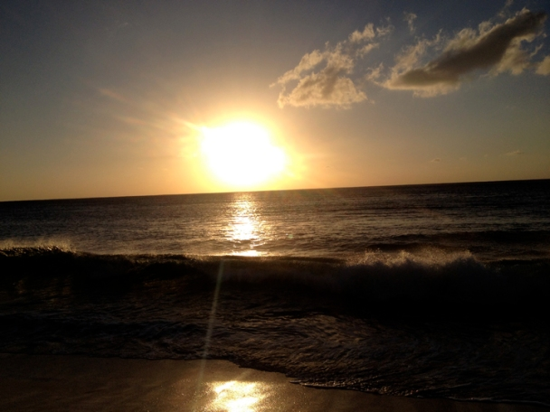Sunset in Oahu - November 2013