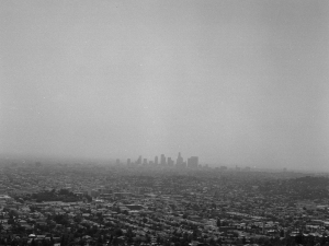 Los Angeles skyline 1999